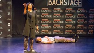 Collaboraction performance for special edition of Broadway in Chicago Backstage